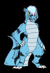 Leo the crocodile by GengarPunk95