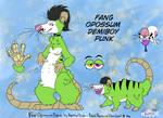 Fang the opossum