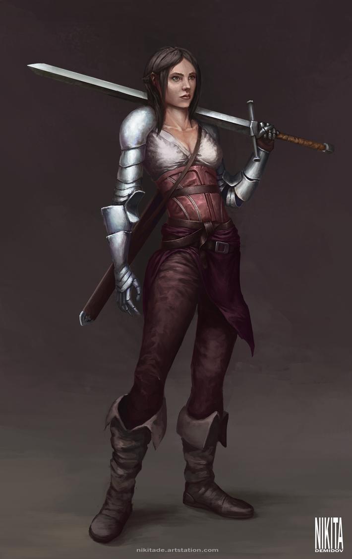 Knight by NikitaDemidov