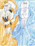 Fire and Dragon by ArtistOtaku91