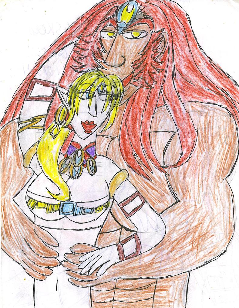King and Queen by ArtistOtaku91
