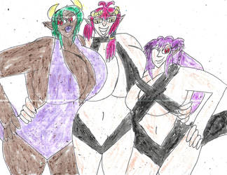 Monster Summer 2 by ArtistOtaku91