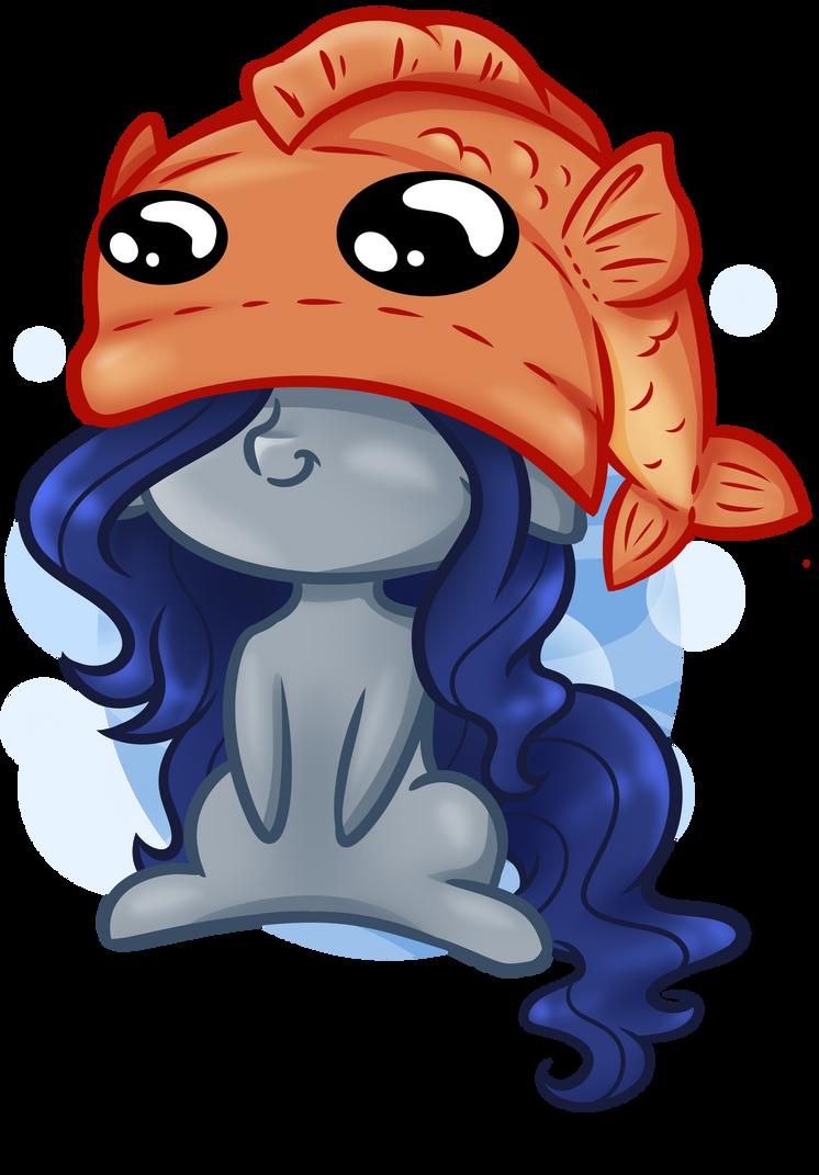 [YCH - Fishy Hat] Ezzy by Nuumia