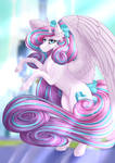 Grown up Flurry Heart by Nuumia