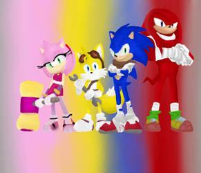Sonic Boom fanart