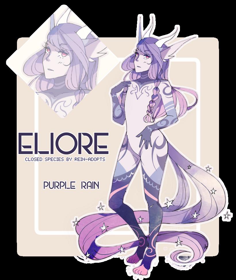 [ELIORE] Purple Rain [CLOSED] by rein-adopts