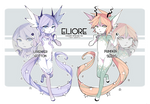 [ELIORE] Lavender n Pumpkin [AB ADDED!!]
