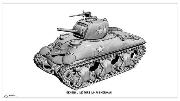 M4 Sherman Sketch