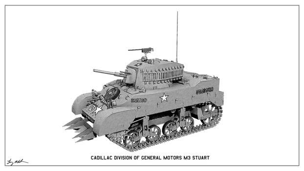 M3 Stuart Sketch