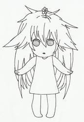 Sekirei No.108 kuu-chan Chibi by RusimRedom