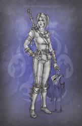 Ciri in Feline armor by phoenixz38