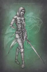 Ciri in Viper armor by phoenixz38