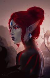 Dunmeri girl by phoenixz38