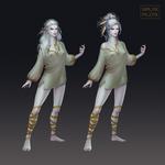 Protagonist's sister concept