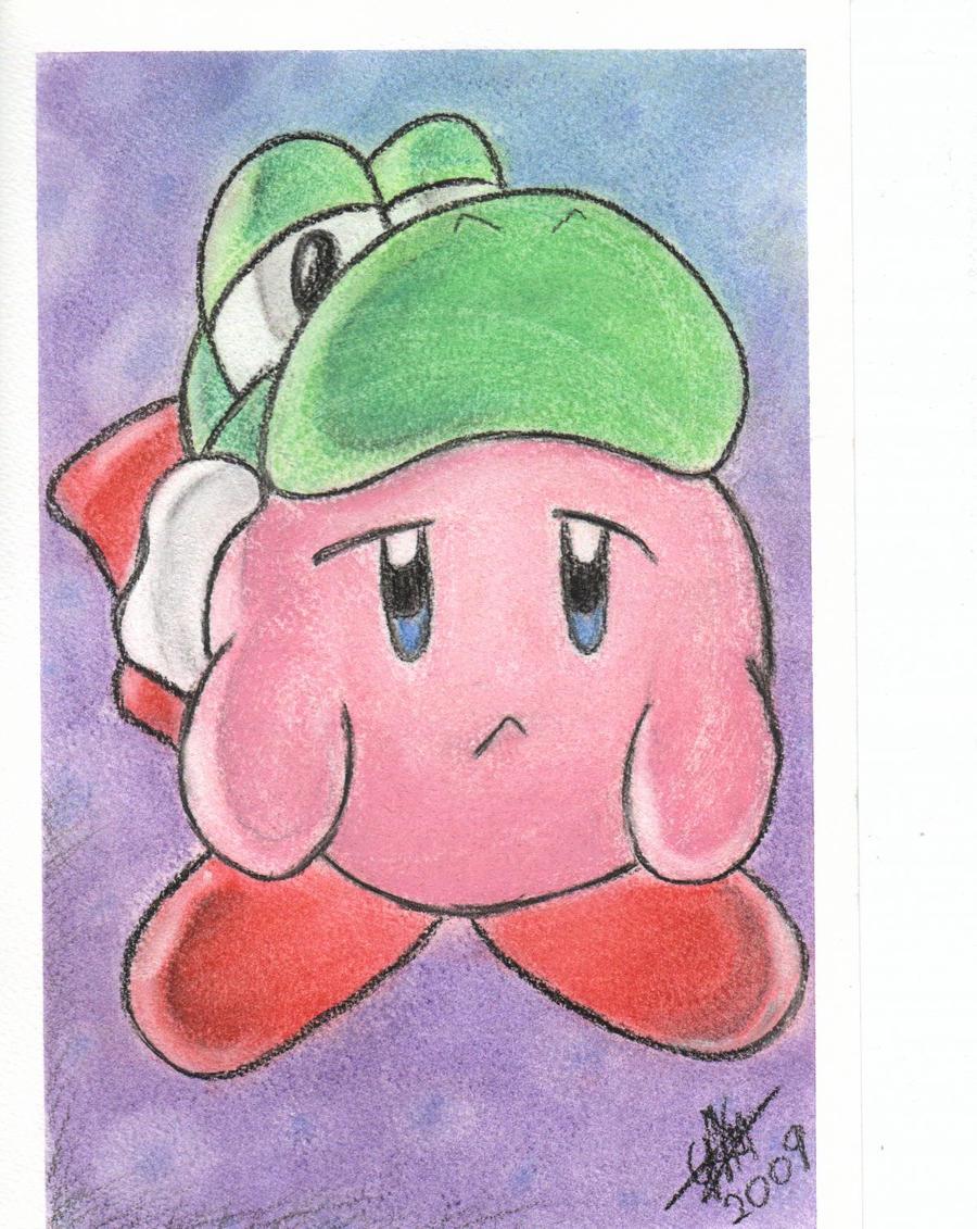 Exposicion de dibujos a mano- Abierta a quien sea Kirby_pasteles_original_by_DarkeDny