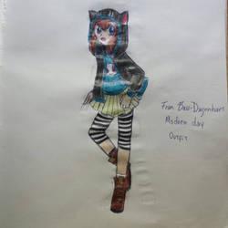 Fran Bow Fan Art: Fran Bow in a Modern Outfit