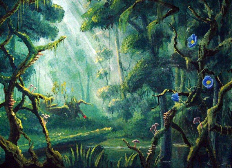 Magical Forest By Brezelburg On Deviantart