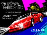 Turbo Esprit Alternative Loading Screen by Retronator