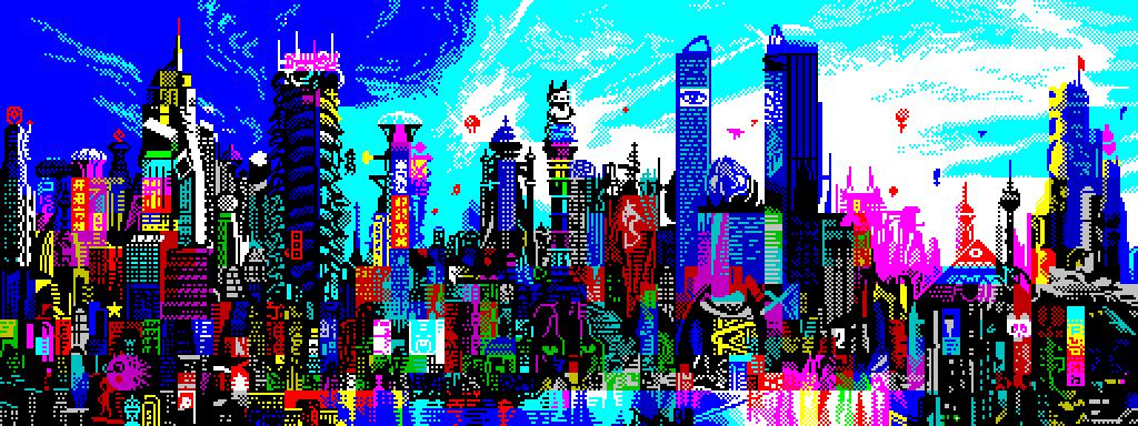 ZX Cosmopolis by Retronator