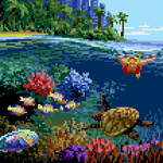 Octobit day 25: Coral reef