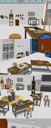 Retronator HQ art studio by Retronator