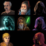 Courier of the Crypts portraits