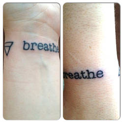 Breathe Tattoo by FantasyWench