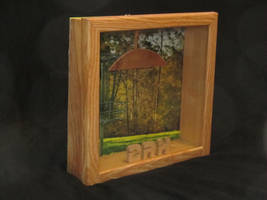 Disc Golf Display Case without disc by NickDClements