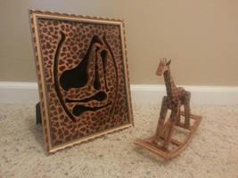 Mini Giraffe Rocker by NickDClements