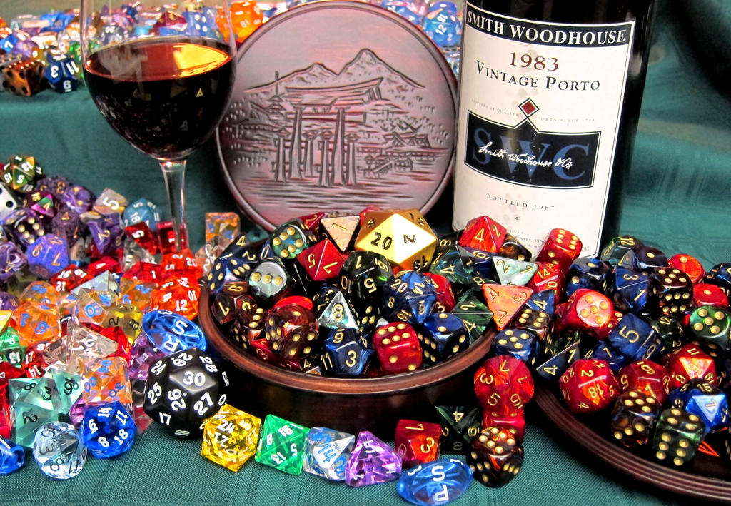 Dice and Port by PortBaron