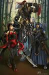 The Shinteidan Commanders