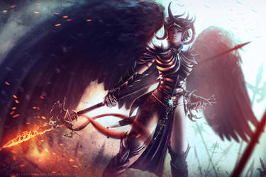 Mystic Dragoon by PortBaron