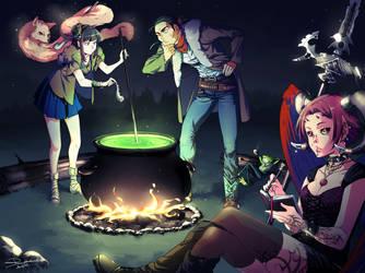 Around the Campfire by PortBaron