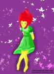 Princesa Flama (gomita) by Gremius