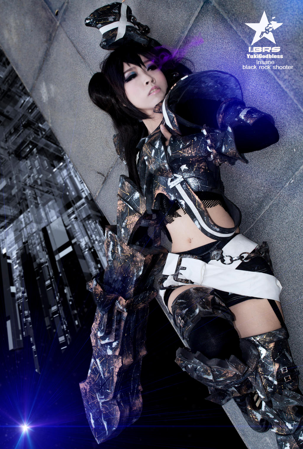 Insane Black Rock Shooter by yukigodbless on DeviantArt