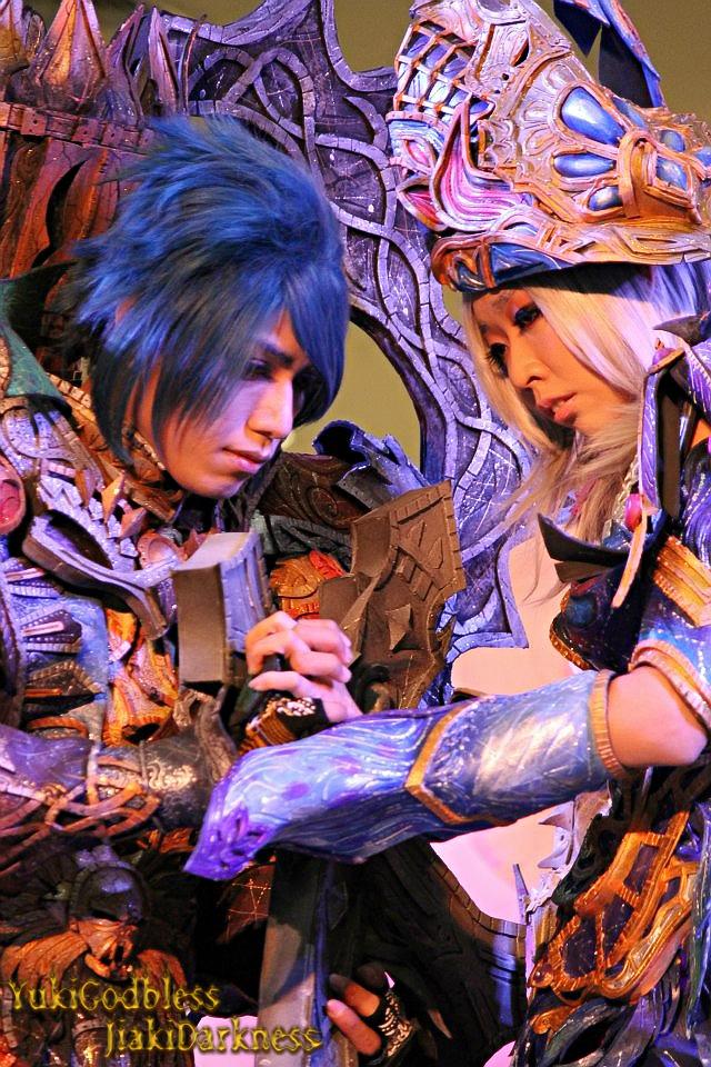 Lost lover Forsaken world cosplay by yukigodbless
