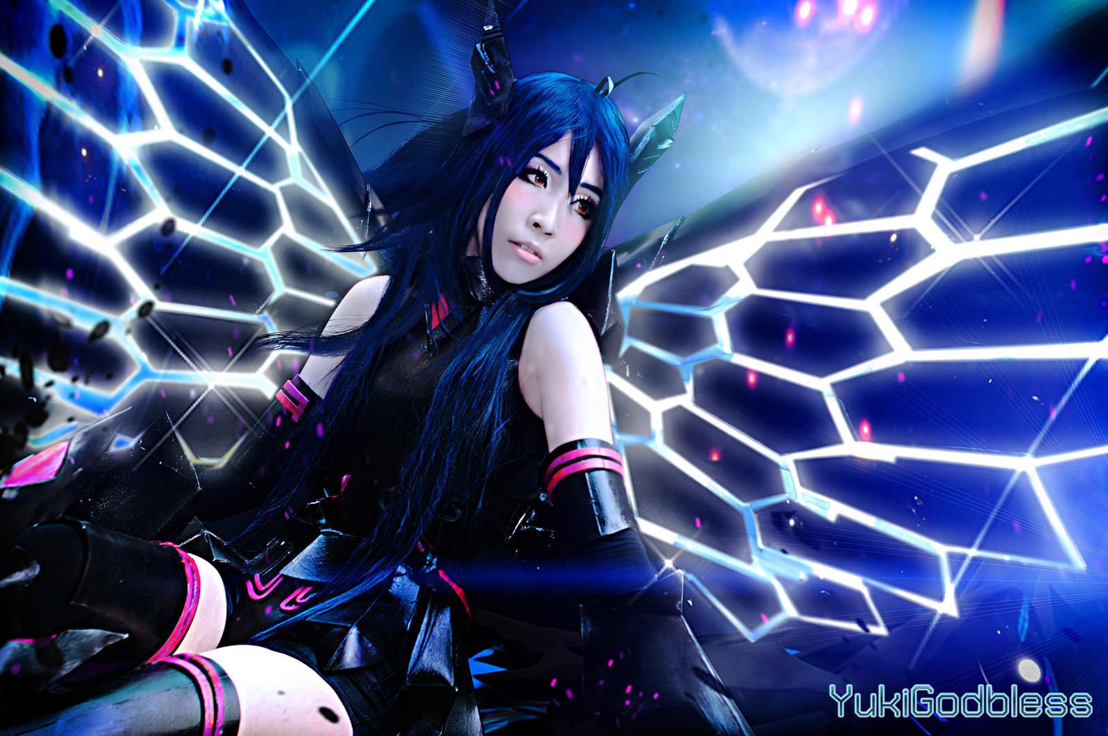 Accel World - Black Lotus cosplay by yukigodbless