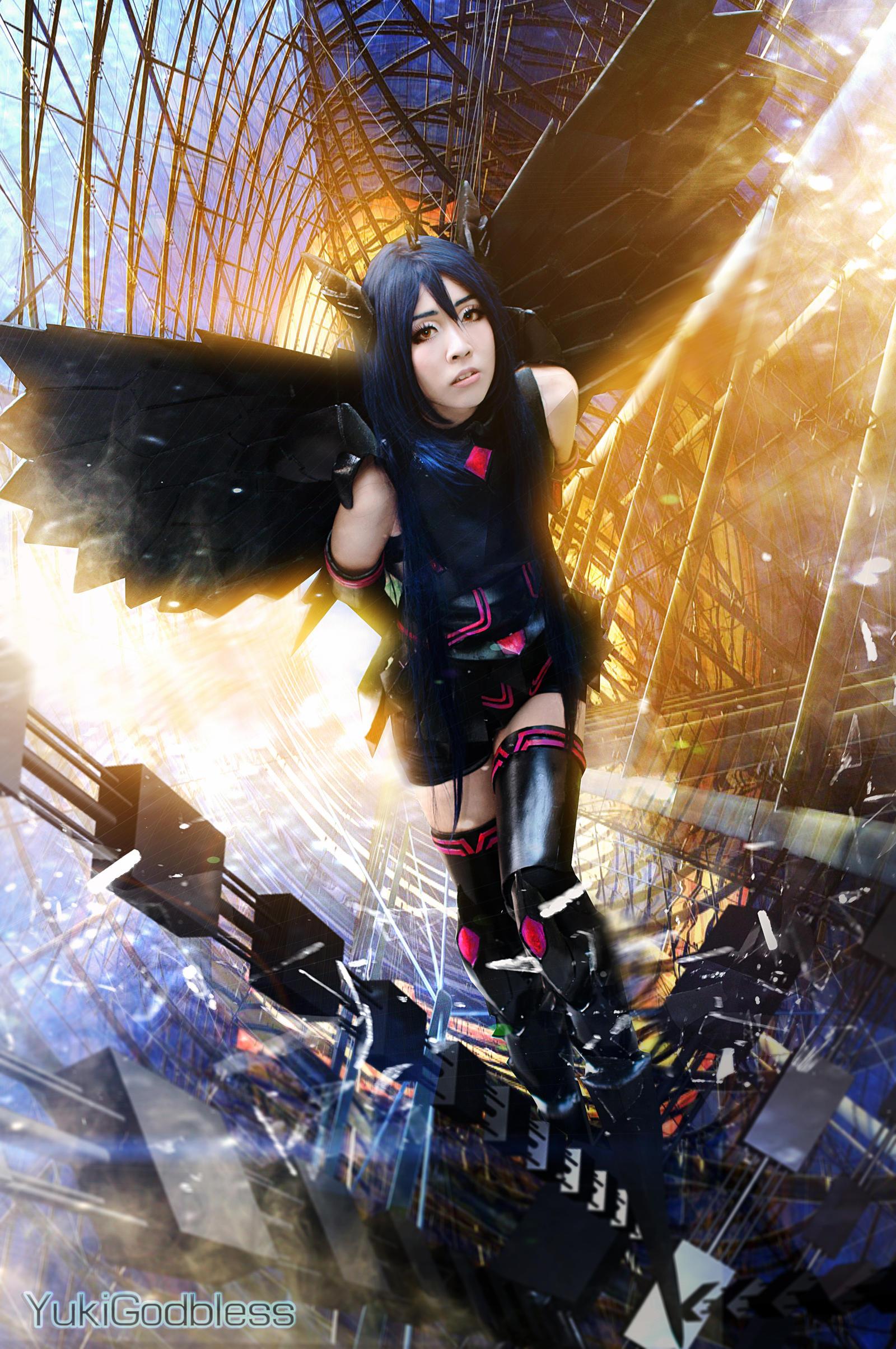 cosplay Accel world kuroyukihime