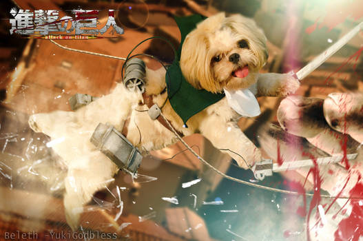 Attack on Titan Puppy