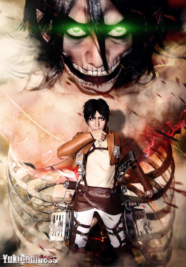 Shingeki no Kyojin Elen cosplay Inside Outside by yukigodbless