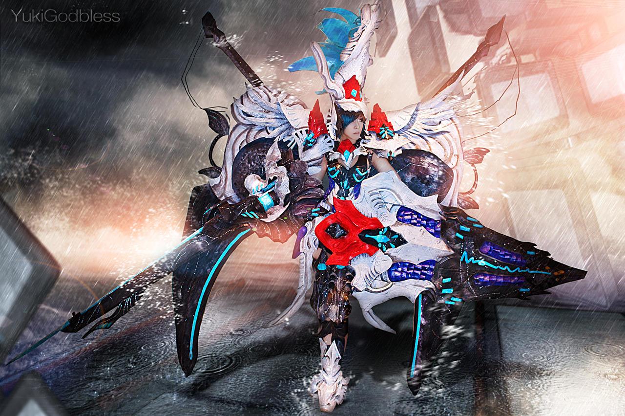 Gunner is coming cosplay by yukigodbless