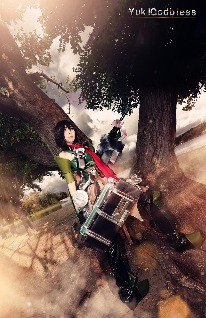 Attack on Titan: Wings of Counter  Mikasa Cosplay by yukigodbless