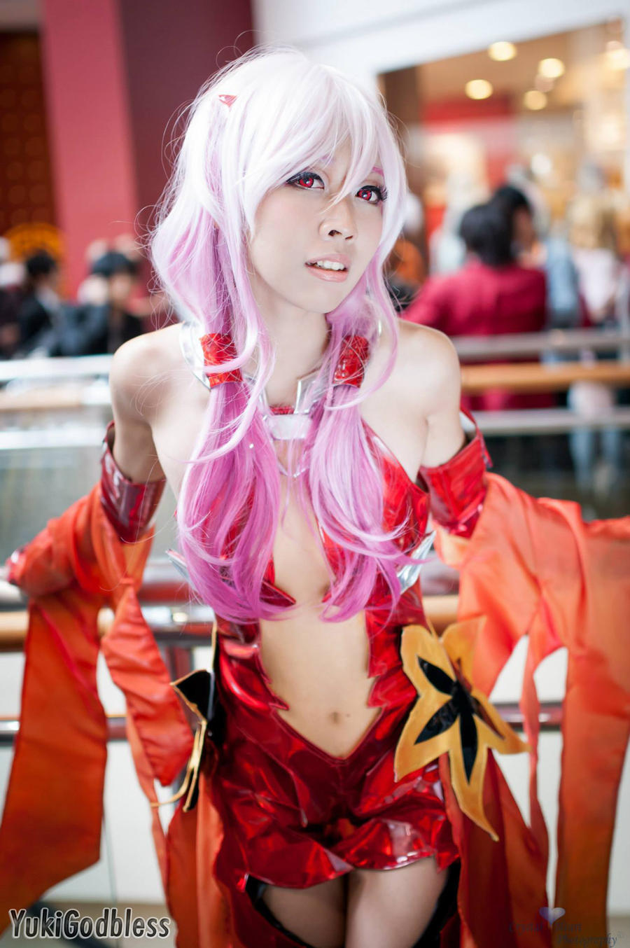 Inori Guilty Crown Cosplay by yukigodbless