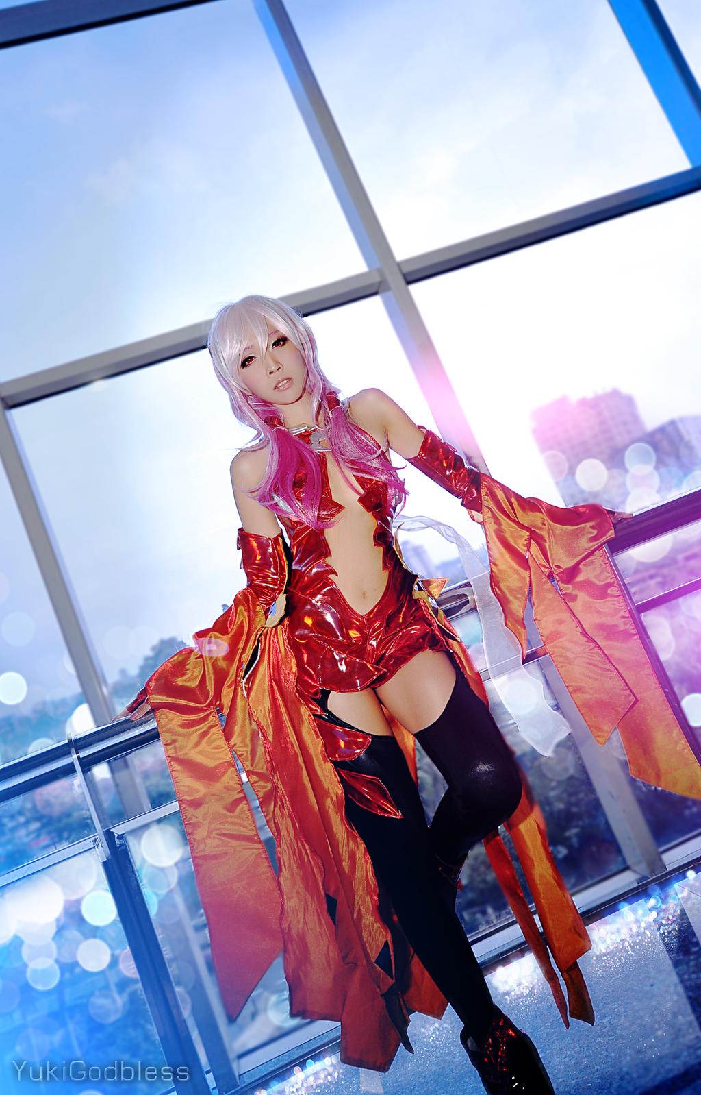 Inori Guilty Crown Cosplay ii by yukigodbless