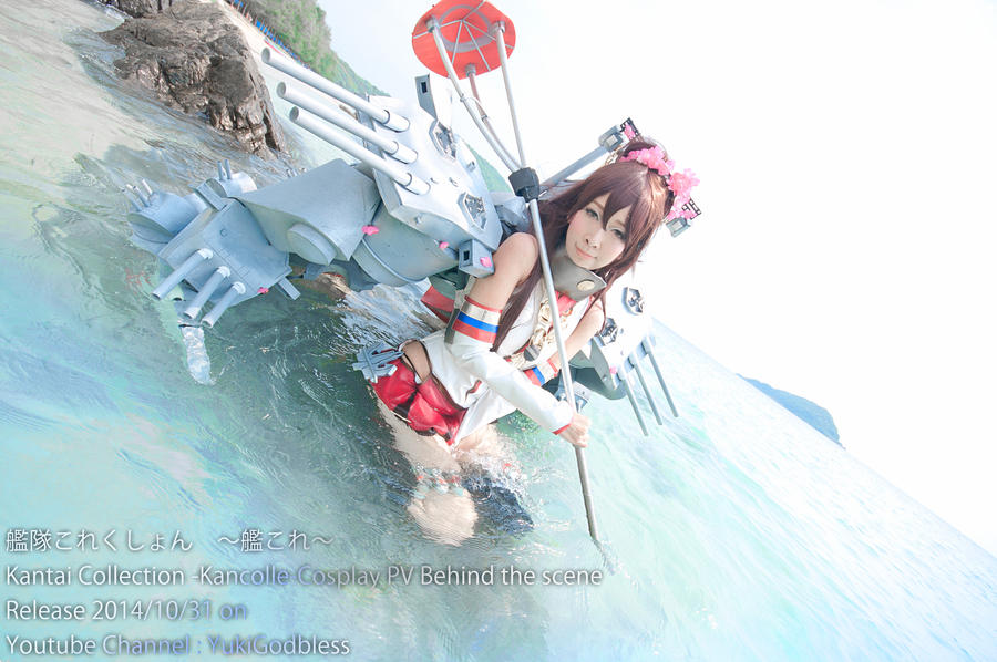 Kantai Collection Cosplay PV Behind the scene by yukigodbless