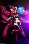 Ahri Challenger Ahri : League of Legends cosplay 3