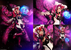 Challenger Ahri : League of Legends cosplay pack