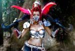 Akali: League of Legends cosplay
