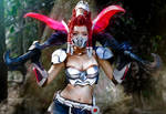 Akali: League of Legends cosplay