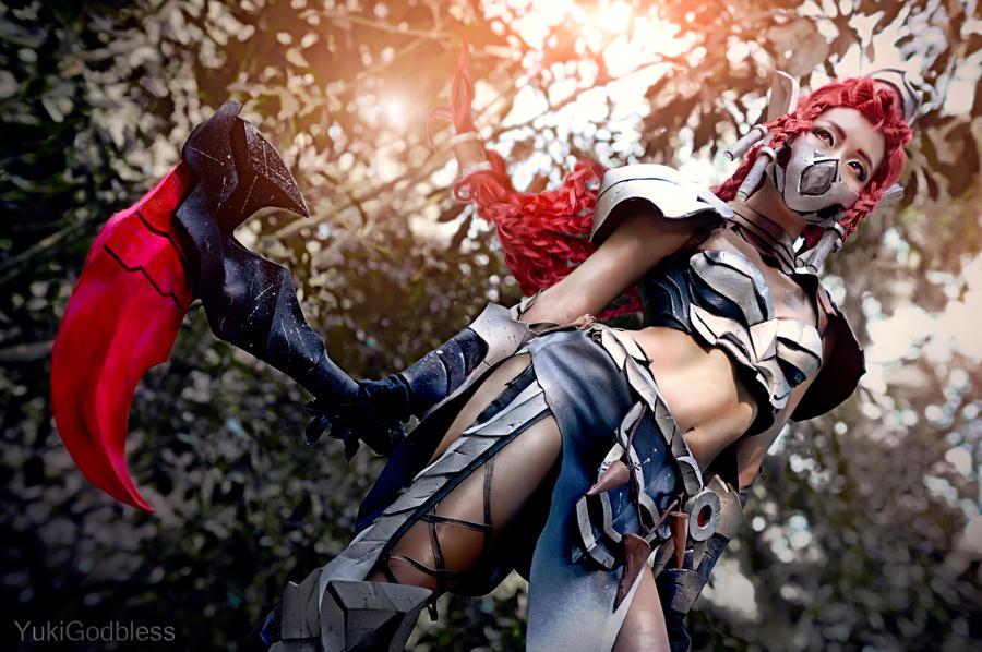 Akali: League of Legends cosplay I by yukigodbless